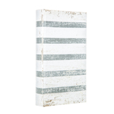 Striped Distressed Book Box